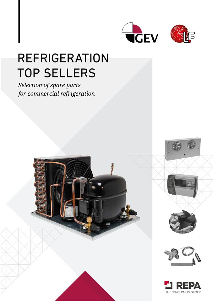 Refrigeration Top Sellers 04/2020
