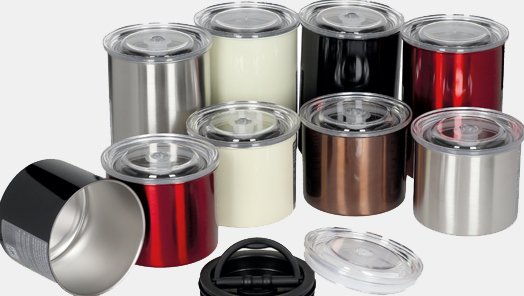 Airtight canisters Planetary Design: as of today LF is your exclusive distributor in Europe