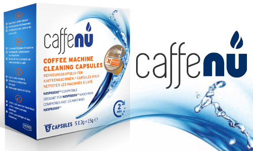 Cleaning capsules for Nespresso® type Coffee machines
