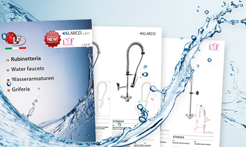 Commercial faucets: news for Klarco and RdF