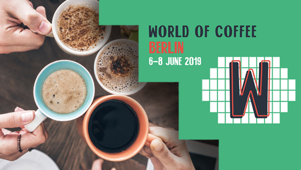 LF and GEV exhibiting at the World of Coffee 2019 in Berlin