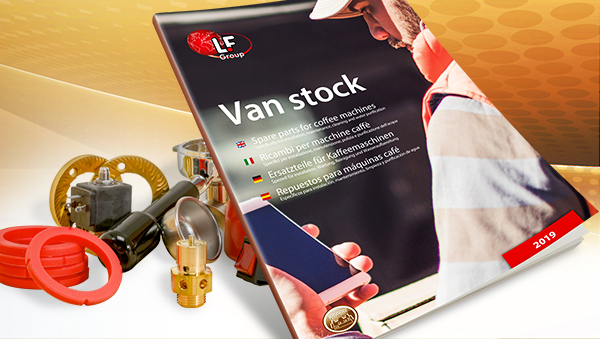 Van Stock for Coffee Machines